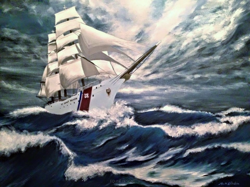 Eagle in Full Sail