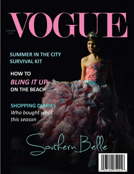Vogue Magazine Cover Mock-up