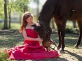 A Princess and her favorite horse