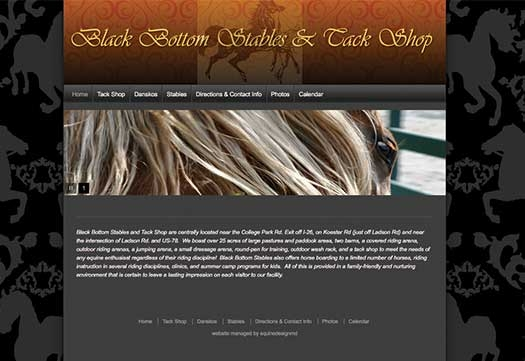 Black Bottom Stables Theme